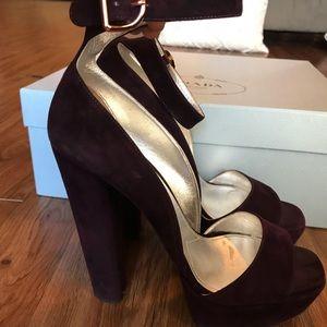 Prada platform sandal
